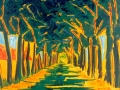 yellow-allee